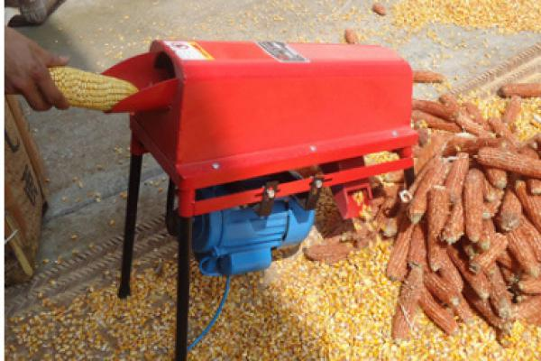 Electric Corn Threshing Machine